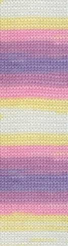 Пряжа Alize Baby Wool Batik жел-роз-сир 4006