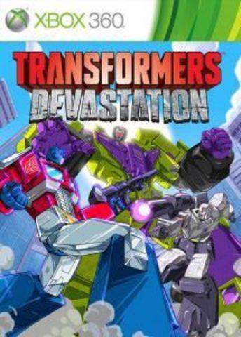 Microsoft Xbox 360 Transformers: Devastation (русская документация)