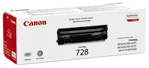Картридж Canon C 728 для Canon i-SENSYS MF4410, MF4430, MF4450, MF4550d, MF4570dn, MF4580dn. Ресурс 2100 стр. (3500B010)