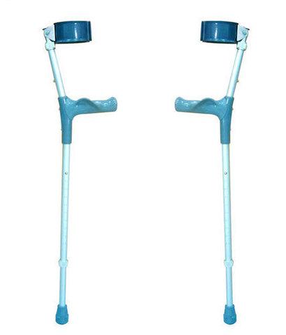 Костыли с опорой под локоть c двойной регулировкой, с анатомической ручкой (Пара)