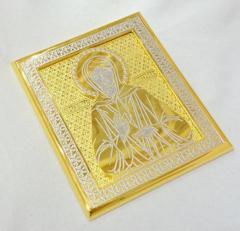 Икона Матроны карманная