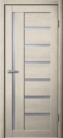 Дверь Fly Doors L-17, стекло матовое, цвет ясень 3D, остекленная