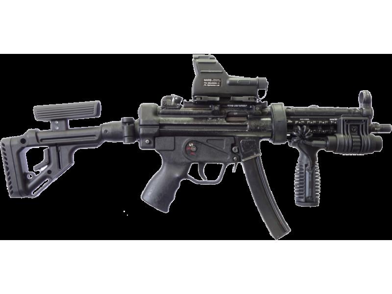 ТАКТИЧЕСКИЙ СКЛАДНОЙ ПРИКЛАД ДЛЯ MP-5 FAB-DEFENSE UAS-MP5