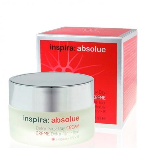 Крем дневной обогащенный увлажняющий Detoxifying Day Cream Rich INSPIRA ABSOLUE, 50 мл.