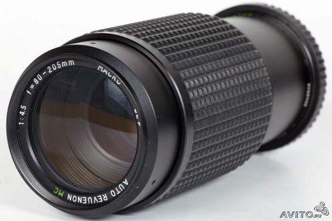 Объектив Revuenon-Zoom 80-205 mm f/ 3.9