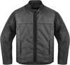 Мотокуртка - ICON 1000 VIGILANTE (текстиль+кожа, черная)