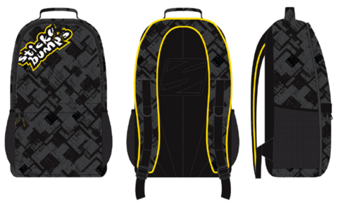 Рюкзак SB BACKPACK Black/Yellow, 15L