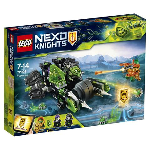 LEGO Nexo Knights: Боевая машина близнецов 72002 — Twinfector — Лего Нексо Рыцари