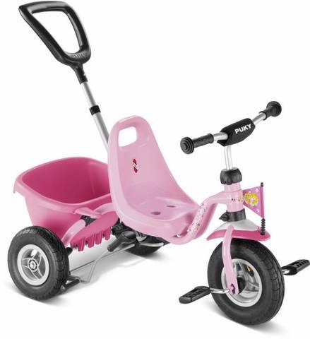 Трехколесный велосипед Puky CAT 1L розовый