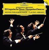Johannes Brahms, Wiener Philharmoniker, Claudio Abbado / 21 Hungarian Dances (LP)