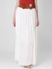 U288-5 юбка женская, белая