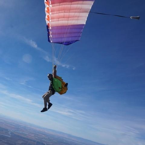 Icarus Om7 - основной парашют
