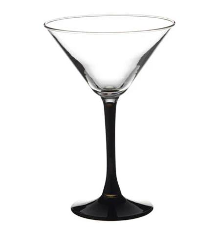 Стаканы imperial black мартини 4*4 ;