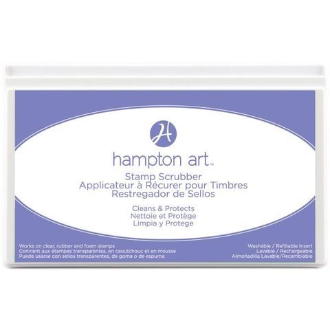 Скрабер в кейсе для очистки штампов  Hampton Art Stamp Scrubber Cleaning Pad & Case