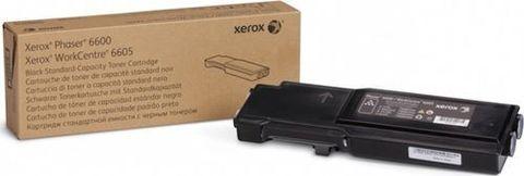 Тонер-картридж черный Xerox Phaser 6600 / WC6605 (106R02252). Ресурс 3000 страниц