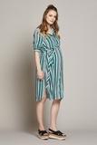 Платье для беременных 10225 зеленый