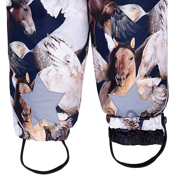 Molo, Комбинезон Pyxis Fur Unicorn and Pegasus (коричневый)