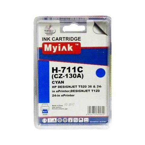 Картридж MyInk CZ133A № 711 Cyan для Hewlett Packard DesignJet T120/520