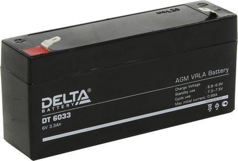 Аккумуляторная батарея Delta DT 6033