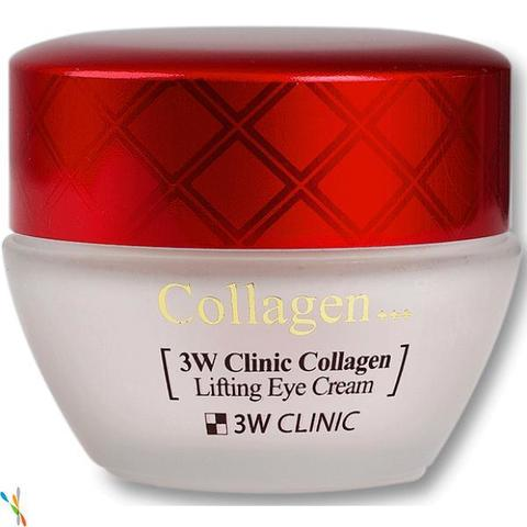 ЛИФТИНГ Крем для век с коллагеном 3W CLINIC Collagen Lifting Eye Cream, 35 мл