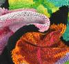 Элитная салфетка шенилловая Rainforest 10 schwarz от Feiler