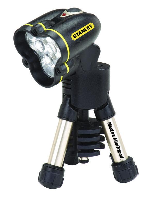 Фонарик светодиодный MaxLife Tripod Midi 9AA с треногой Stanley 1-95-111