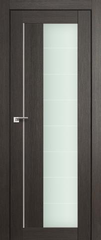 Дверь Profil Doors №47Х, стекло матовое, цвет грей мелинга, остекленная