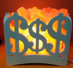 Солевая лампа Камин Доллар 4-5кг