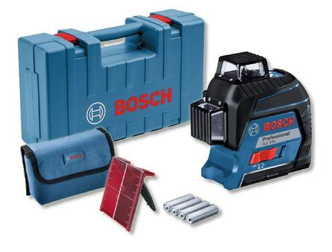 Лазерный нивелир BOSCH GLL 3-80 + кейс