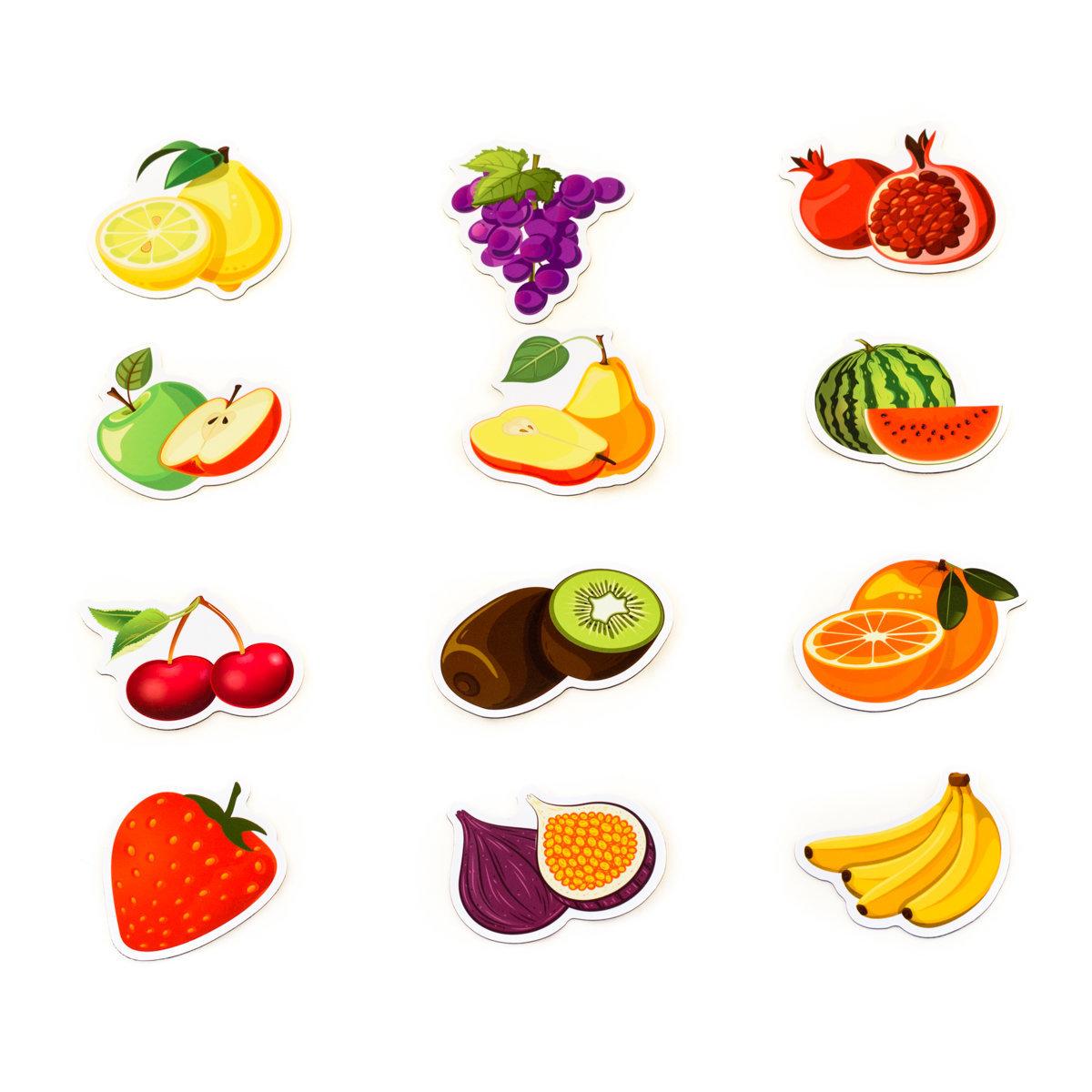 Много фруктов картинки для детей, сделать