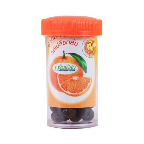 Драже со вкусом Апельсина, Конгка Херб, от кашля, способствуют отхождению мокроты.