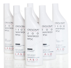 Шампунь для стимуляции роста волос для женщин, 200 (Labo | Crescina Re-Growth shampoo Hfsc + Crescina Anti-Hair Loss HSSC 200), 150 мл
