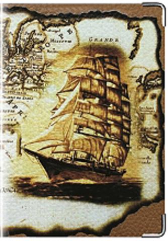 """Обложка для паспорта """"Корабль"""" (1)"""