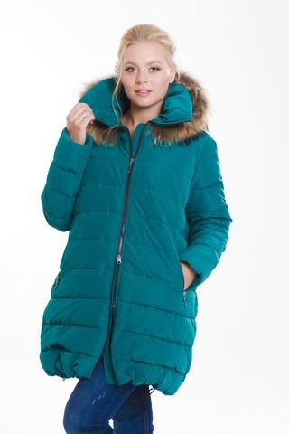 Куртка 08133 зеленый