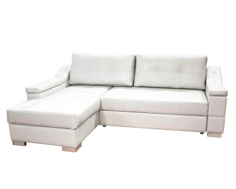 Угловой диван Макс П5 1я2д, светлые ножки