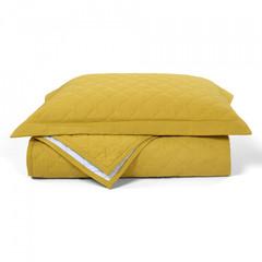 Покрывало 240х260 и 2 декоративные наволочки Casual Avenue Hampton желтое