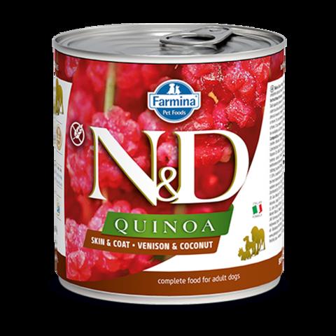 Farmina Dog Quinoa Venison & Coconut Консервы для собак с Олениной, киноа и кокосом