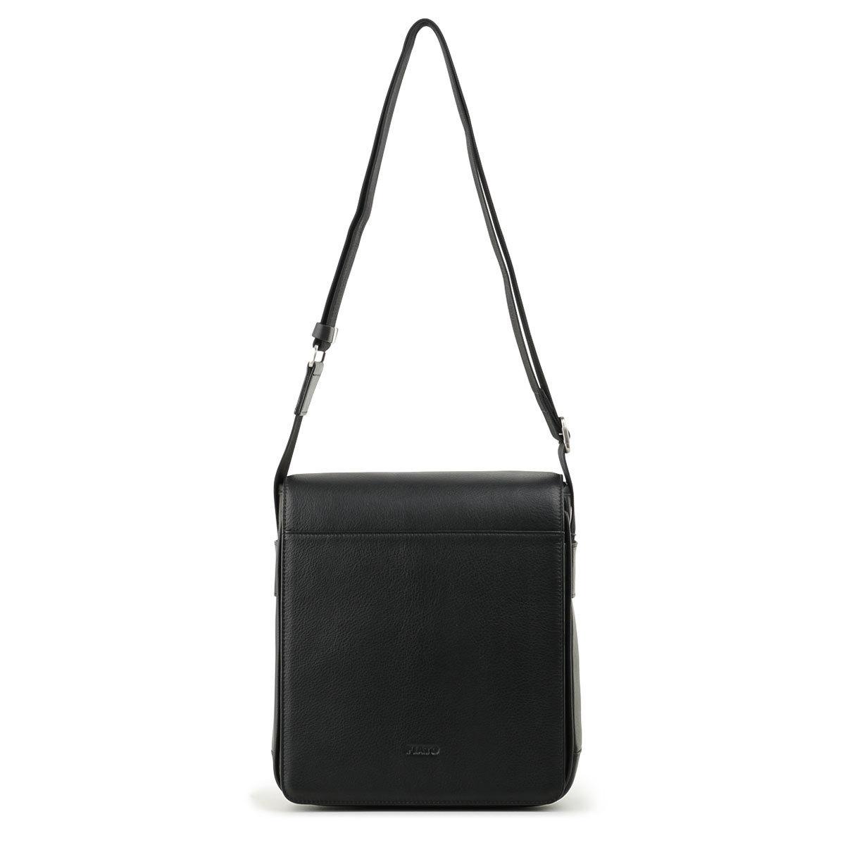 м13199 Fiato  кожа черный  (сумка мужская)