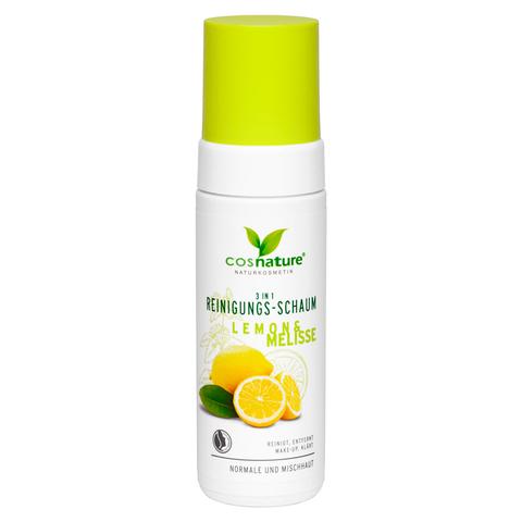 Очищающая пенка для лица 3 в 1 «Лимон и мелисса», 150 млCOSNATURE