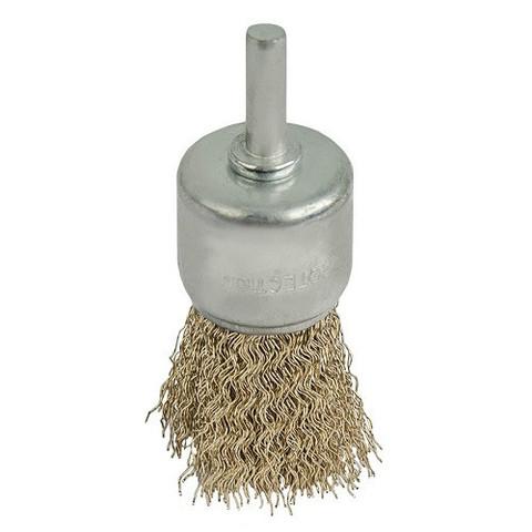 Кордщетка для дрели кистеобразная мягкая ПРАКТИКА 30 мм (773-446)