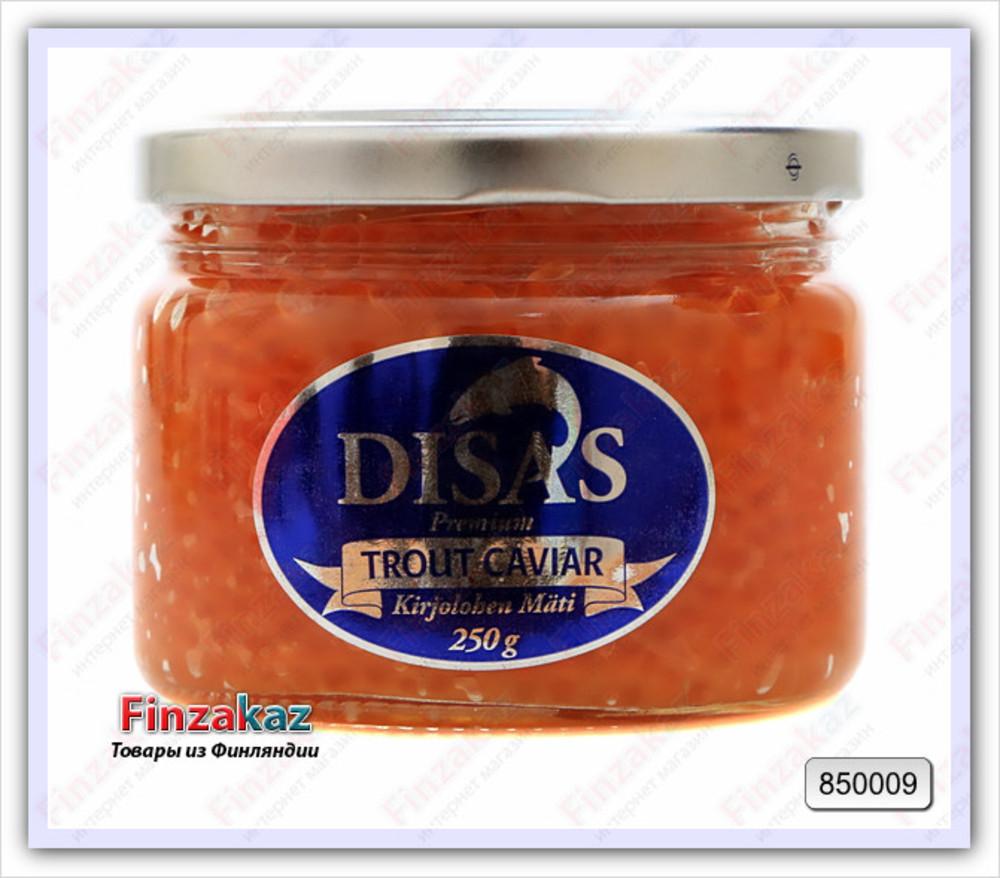 Икра форели DISAS (соленая) 250 гр