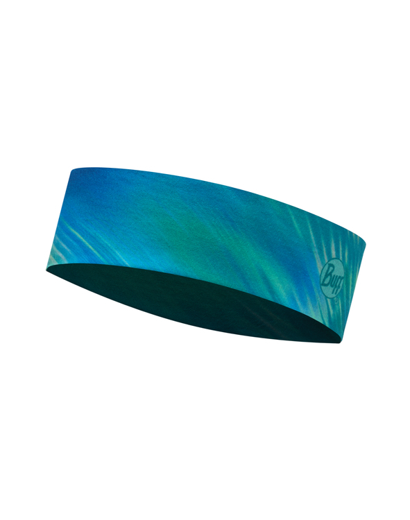 Узкая спортивная повязка Buff Shining Turquoise