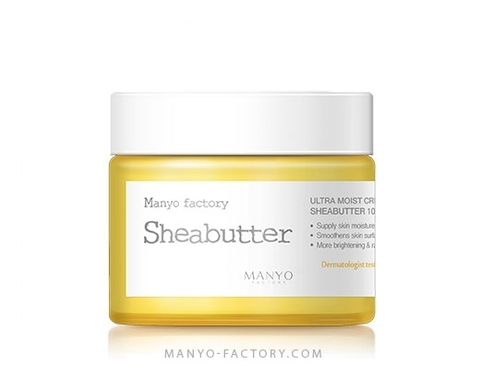 MANYO Крем для лица с маслом Ши MANYO FACTORY Ultra Moist Creamy Shea Butter 75мл