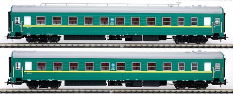 Eurotrain 0203 Набор вагонов ЦМВ РЖД (Уфа- Москва), 1:87