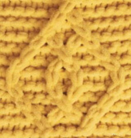 Пряжа Puffy Fine Alize 281 темно-желтый фото