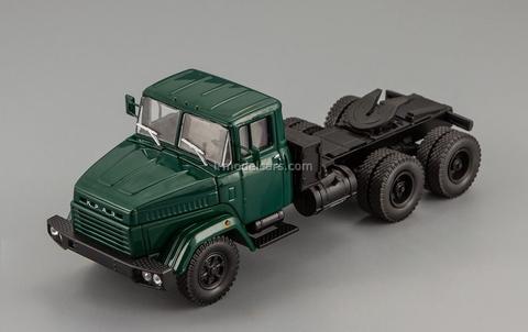 KRAZ-6444 truck tractor 1985-1994 green 1:43 Nash Avtoprom