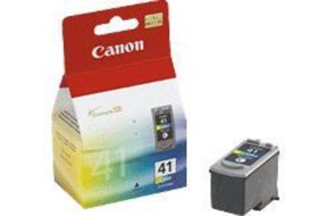 Картридж Canon CL-41 цветной для принтеров Canon PIXMA iP1200, iP1300, iP1600, iP1700, iP1800, iP1900, iP2200, iP2500, iP2600, iP6210D, iP6220D, MP140, MP150, MP160, MP170, MP180, MP190, MP210, MP220, MP450, MP460, MX300, MX310. (0617B025)