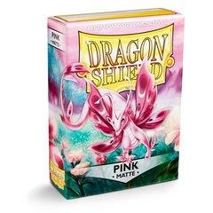 Dragon Shield - Розовые матовые протекторы 60 штук