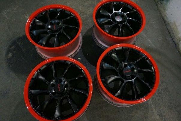Покраска колесных дисков (4 шт.) фото-6