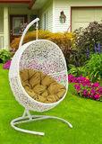 Подвесное кресло Lunar White